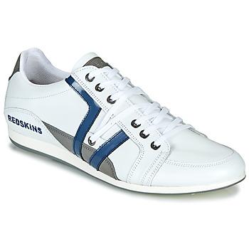 Scarpe Uomo Sneakers basse Redskins WARREN Bianco / Blu / Grigio