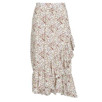 Abbigliamento Donna Gonne Betty London  Bianco / Rosso