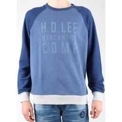 Abbigliamento Uomo Felpe in pile Lee Graphic Crew SWS L80ODELR blue