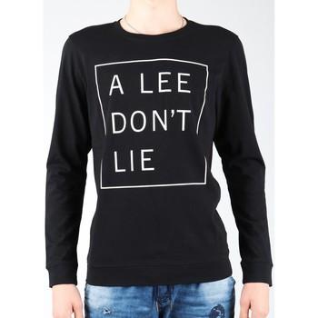 Abbigliamento Uomo T-shirts a maniche lunghe Lee Don`t Lie Tee LS L65VEQ01 black, white