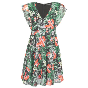 Abbigliamento Donna Abiti corti Guess EULALIA DRESS Nero / Verde