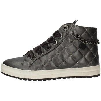 Scarpe Bambina Sneakers alte Asso AG-3200 GRIGIO