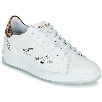 Scarpe Donna Sneakers basse Replay MELANIA Bianco