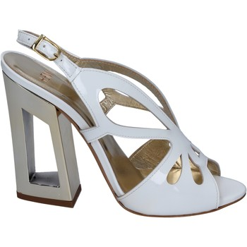 Scarpe Donna Sandali Me + By Marc Ellis sandali vernice bianco