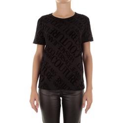 Abbigliamento Donna T-shirt maniche corte Versace Jeans Couture B2HUB728 Nero