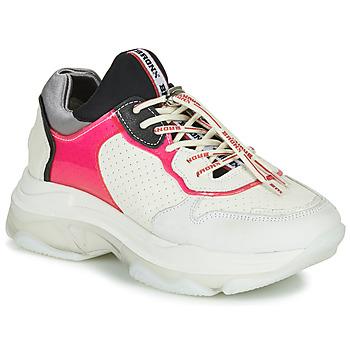 Scarpe Donna Sneakers basse Bronx BAISLEY Bianco / Rosa