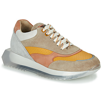 Scarpe Donna Sneakers basse Bronx LINKK-UP Taupe / Rosa / Grigio