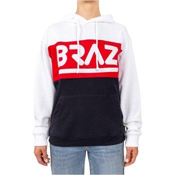 Abbigliamento Donna Felpe Braz Sudore / Felpa zip 120974TSH bianco