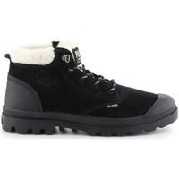 Scarpe Donna Stivali da neve Palladium Manufacture Pampa LO WT Nero