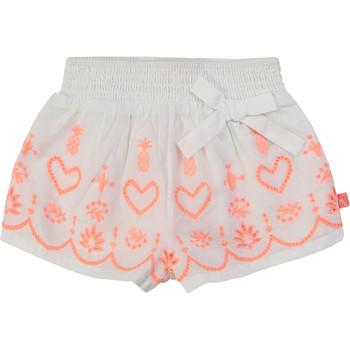 Abbigliamento Bambina Shorts / Bermuda Billieblush / Billybandit NEYO Bianco