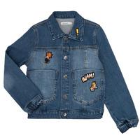 Abbigliamento Bambino Giacche in jeans Billieblush / Billybandit NOTINIO Blu