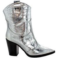 Scarpe Donna Stivali Bianca Di LES AUTRES 571 COCCOLAM ARGENTO Silver