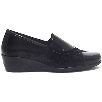 Scarpe Donna Mocassini Susimoda scarpe donna 8906, ecopelle ecovernice, nero A9102