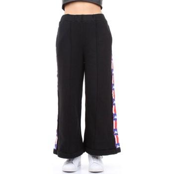 Abbigliamento Donna Pantaloni morbidi / Pantaloni alla zuava Kappa 304nrl0 Nero
