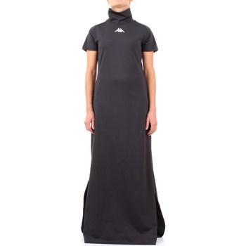 Abbigliamento Donna Abiti lunghi Kappa 304nq30 Nero