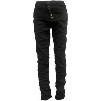 Abbigliamento Donna Jeans slim By La Vitrine Jeans noir B3021-H Nero