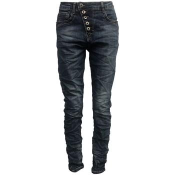 Abbigliamento Donna Jeans slim By La Vitrine Jeans bleu B3021-N Blu