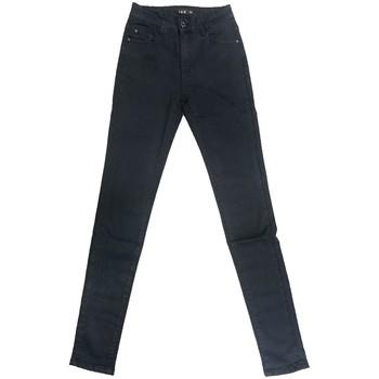 Abbigliamento Donna Jeans slim By La Vitrine Jeans bleu foncé RW826 Blu