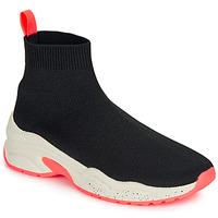Scarpe Donna Sneakers alte André HARUNA Nero