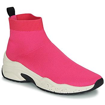 Scarpe Donna Sneakers alte André HARUNA Rosa