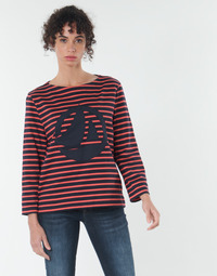 Abbigliamento Donna Top / Blusa Petit Bateau  Rosso / Marine