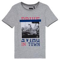 Abbigliamento Bambina T-shirt maniche corte Ikks AMELIE Grigio / Chiné