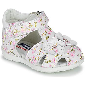 Scarpe Bambina Sandali Primigi 5401300 Bianco / Rosa