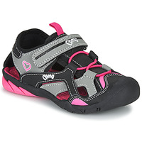 Scarpe Bambina Sandali sport Primigi 5460011 Nero / Rosa
