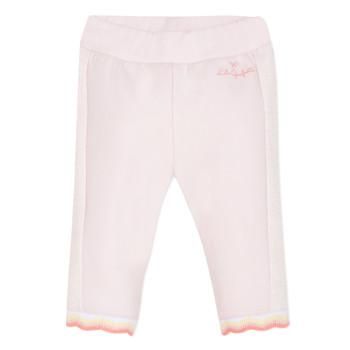 Abbigliamento Bambina Pantaloni 5 tasche Lili Gaufrette NOLIS Rosa