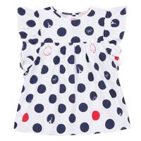 Abbigliamento Bambina Top / Blusa Lili Gaufrette COLINE Bianco