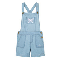 Abbigliamento Bambina Tuta jumpsuit / Salopette Lili Gaufrette NANYSSE Blu