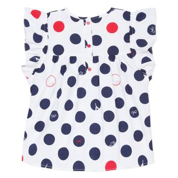 Abbigliamento Bambina Top / Blusa Lili Gaufrette POUSSI Bianco