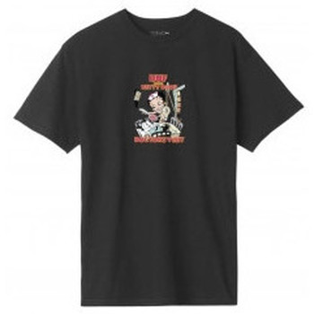 Abbigliamento T-shirt maniche corte Huf X Betty Boop Doctors Visit - Black Nero