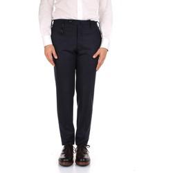 Abbigliamento Uomo Pantaloni da completo Incotex 1AT091 1721T Blu