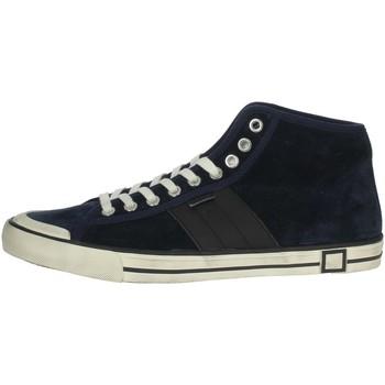 Scarpe Uomo Sneakers alte Date E20-126 BLU