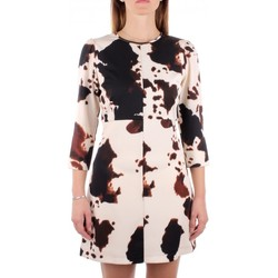Abbigliamento Donna Abiti corti Denny Rose 921DD10007 Abito  Donna Bianco nero Bianco nero