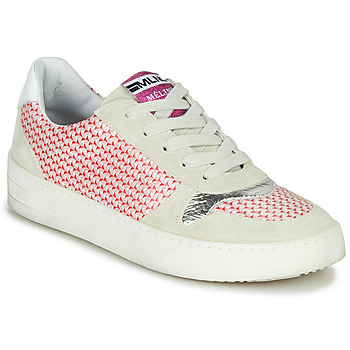 Scarpe Donna Sneakers basse Meline GUILI Beige / Rosso