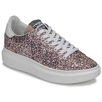 Scarpe Donna Sneakers basse Meline GEYSI Glitter / Rosa