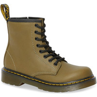 Scarpe Donna Stivali Dr Martens 1460 J Dms Olive Romario Smoother Finish Groen