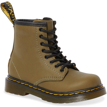 Scarpe Donna Stivali Dr Martens 1460 T Dms Olive Romario Smoother Finish Groen