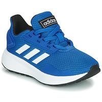 Scarpe Unisex bambino Sneakers basse adidas Originals DURAMO 9 K Blu
