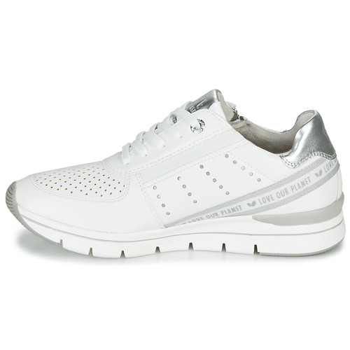 2-23723  Marco Tozzi  sneakers basse  donna  bianco XLieH V5ZLX