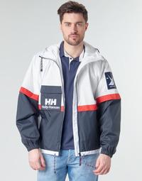 Abbigliamento Uomo Giubbotti Helly Hansen RAIN Bianco / Marine