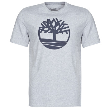Abbigliamento Uomo T-shirt maniche corte Timberland SS Kennebec River Brand Tree Tee Grigio