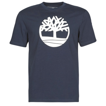 Abbigliamento Uomo T-shirt maniche corte Timberland SS KENNEBEC RIVER BRAND TREE TEE Marine