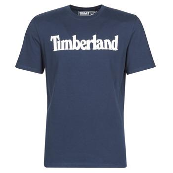 Abbigliamento Uomo T-shirt maniche corte Timberland SS KENNEBEC RIVER BRAND LINEAR TEE Marine