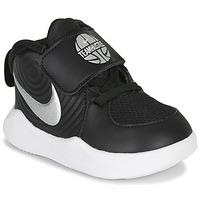 Scarpe Unisex bambino Multisport Nike TEAM HUSTLE D 9 TD Nero / Argento
