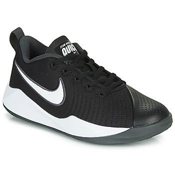 Scarpe Unisex bambino Multisport Nike TEAM HUSTLE QUICK 2 GS Nero / Bianco