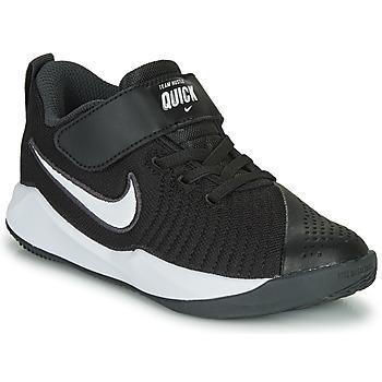 Scarpe Unisex bambino Multisport Nike TEAM HUSTLE QUICK 2 PS Nero / Bianco