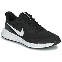 Scarpe Unisex bambino Sneakers basse Nike REVOLUTION 5 GS Nero / Bianco